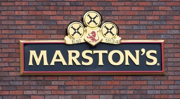 Marston's has raised a glass to rising sales