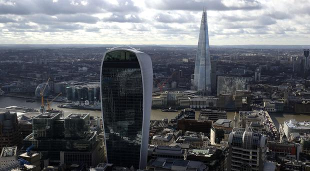 Robert Walters said in the UK, net fee income grew 20% to £48.3 million, with activity levels strongest in London in financial services