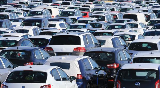 Figures show almost 137,000 cars left production lines, 13.7% down on June last year