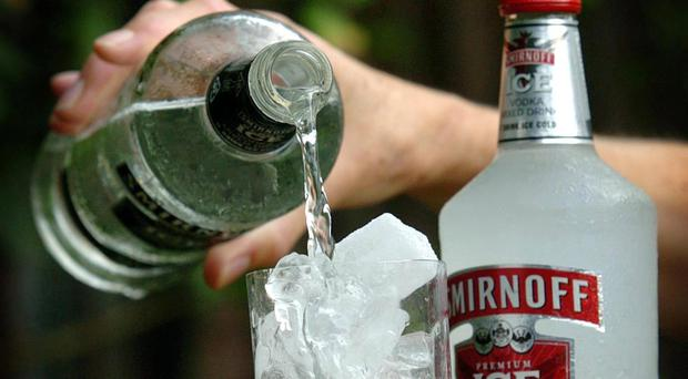 Diageo makes drinks including Smirnoff vodka and Guinness