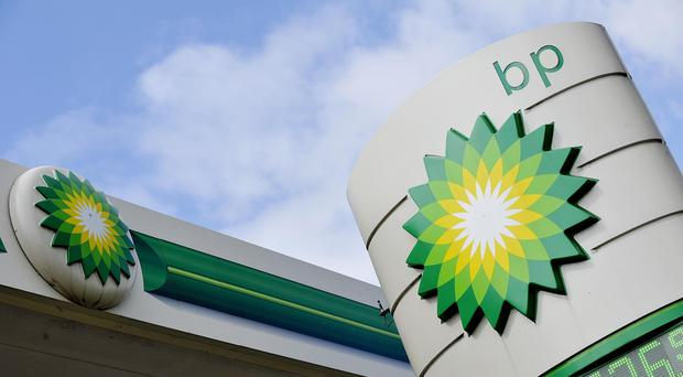 Shares in BP rose more than 2% in morning trading