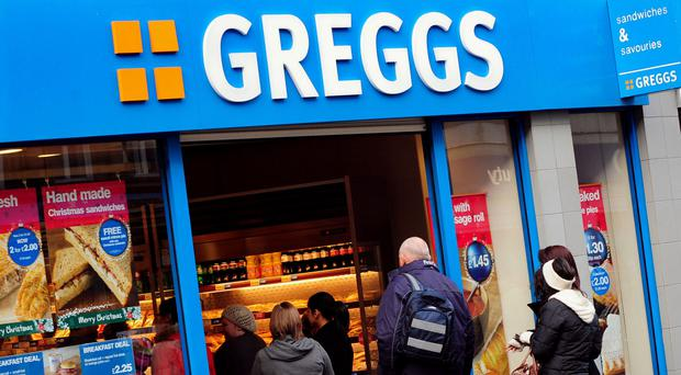 Greggs is gaining as healthy eating range helps to drive up sales
