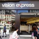 The Vision Express outlet on Oxford Street