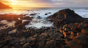 The Giant's Causeway is one of the big visitor attractions