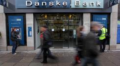 Danske Bank has announced the closure of two branches.