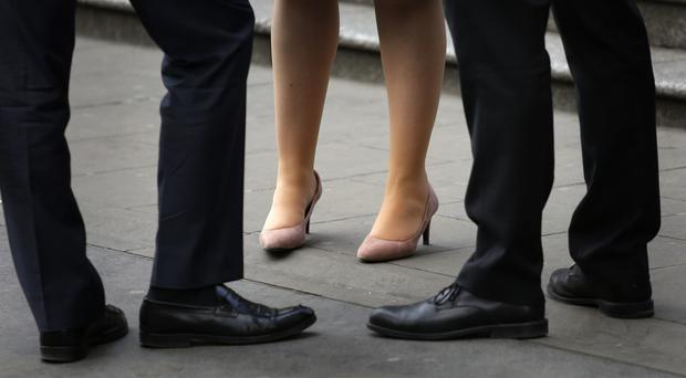 Overall in the UK, full-time women earned 8.6% less per hour than full-time males (stock photo)