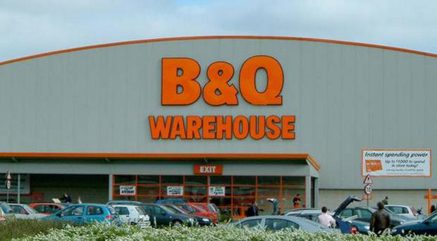 The former B&Q store on the Boucher Road