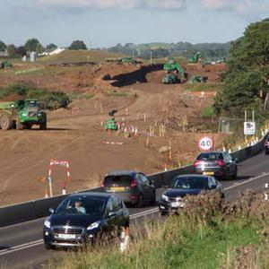 FP McCann worked on the dualling of the A26 in Co Antrim
