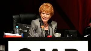 GMB president Mary Turner has died