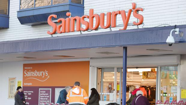 Sainsbury's, which has 12 Northern Ireland stores, said like-for-like retail sales including the recently-bought Argos chain rose 2.3% in its first quarter.