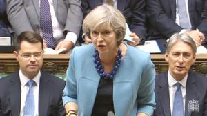 Prime Minister Theresa May issued warning to greedy firms during a speech at the Conservative Party conference in Birmingham last month