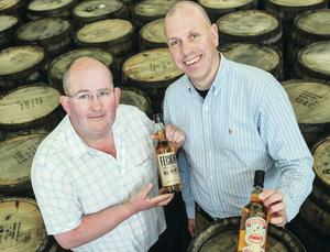 Echlinville Distillery will sell its drinks to a global market after receiving a licence to distil spirits in the province