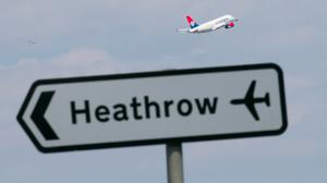 The independent study is said to have measured poisonous nitrogen dioxide levels using 40 sensors in and around Heathrow