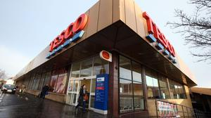 Tesco's market share is up by 1.4%