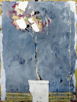 Artworks associated with the Royal Ulster Academy which could hang in a new gallery at Riddel's Warehouse: White Flowers by Basil Blackshaw