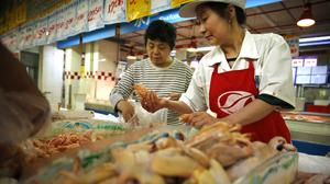 Cooked Chinese poultry is closer to hitting the American market as part of the trade agreement (AP)