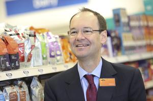 Chief executive Mike Coupe said a fall in food prices was likely to continue