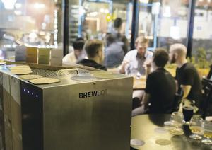 Brewbot helps monitor the whole beer making process with prompts via your smartphone on adding water and other ingredients