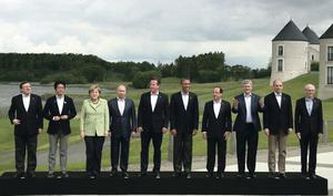 World leaders at the G8 summit in Co Fermanagh