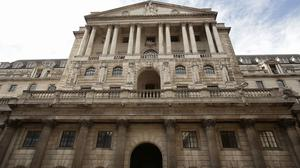 The Bank of England predict inflation will stay far below the Government's target of 2% for some time
