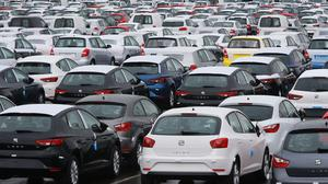 More than 152,000 new cars were registered in April, the Society of Motor Manufacturers and Traders said