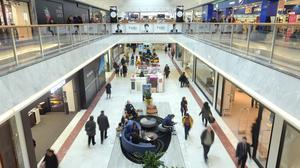 Shopping centres saw footfall plummet by almost half (49.5%) compared to the same day in 2016