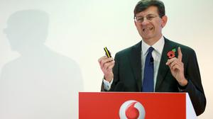 """Vittorio Colao blamed """"heightened price competition"""" in Vodafone's business services division"""