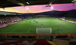 Cliftonville's Solitude ground