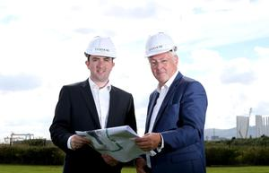 Ciaran Devine of Evermore Energy with Colin Walsh of Crescent Capital