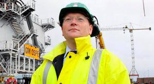 David McVeigh, head of sales and marketing at Harland and Wolff Heavy Industries