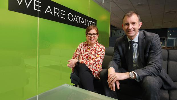 Elaine Smyth of Catalyst and Ian McConnell of PwC