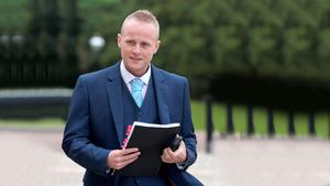 Jamie Bryson said there was no threat from the UVF.