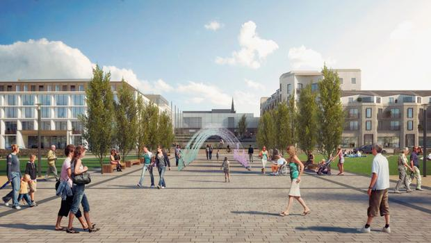 Computer-generated images of the proposed £50m development at Queen's Parade