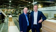 From left, Peter Rush, chief executive, and COO James Harris