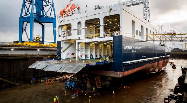 Work begins on new ship