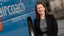 Positive outlook: Dervla McKay believes Aircoach can bounce back
