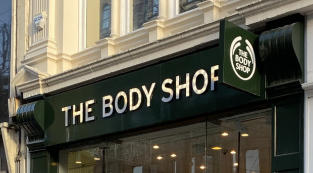 On move: The Body Shop