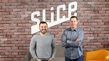 Slice founder Ilir Sela (left) with the firm's chief technical officer Jason Ordway