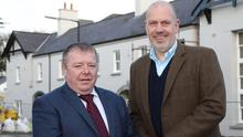 Michael Johnston (left) of Fresh Food Centres and John Hood, Invest NI