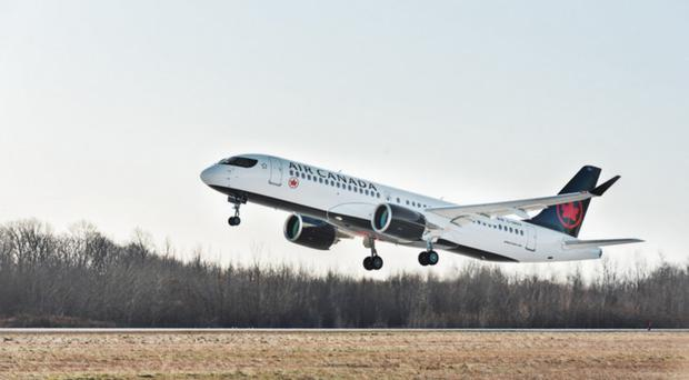 Air Canada will operate the A220-300 from next month