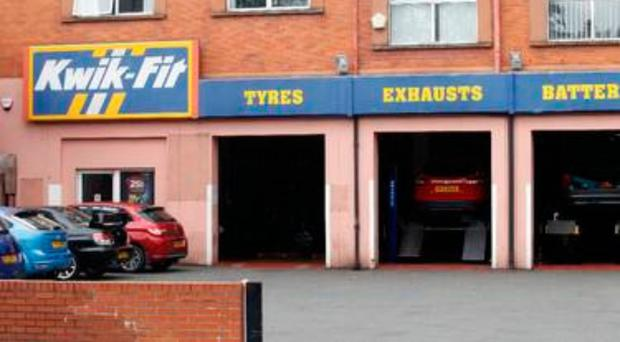 Shutting: Kwik-Fit on Lisburn Road