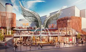 Impressive: An artist's impression of the Angel Central development, following investment
