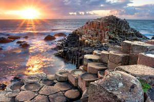 The Giant's Causeway is a big draw