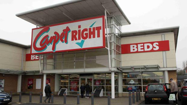 Carpetright where closures are planned