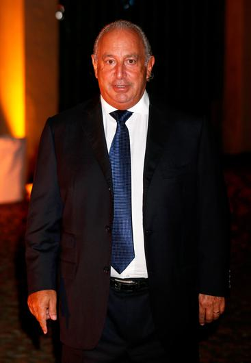 Troubles: Sir Philip Green