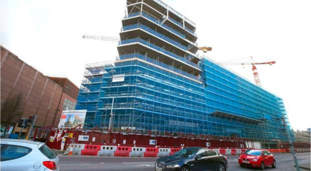 Over budget: Ulster University at York Street