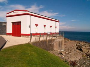 Change: the old lifeboat shelter in Portrush