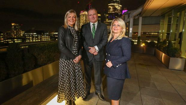 Suzanne Wylie, Brian Lavery and Andrea McIlroy-Rose