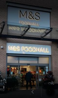 Busy: the Marks & Spencer store on the Upper Newtownards Road