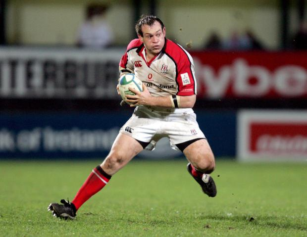 Simon Best during his playing days for Ulster